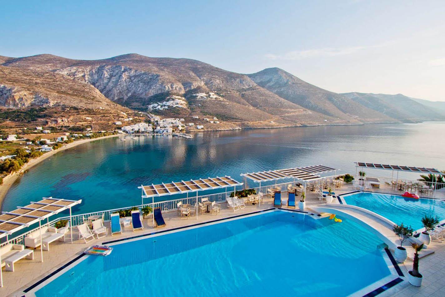 Aegialis hotel, Amorgos
