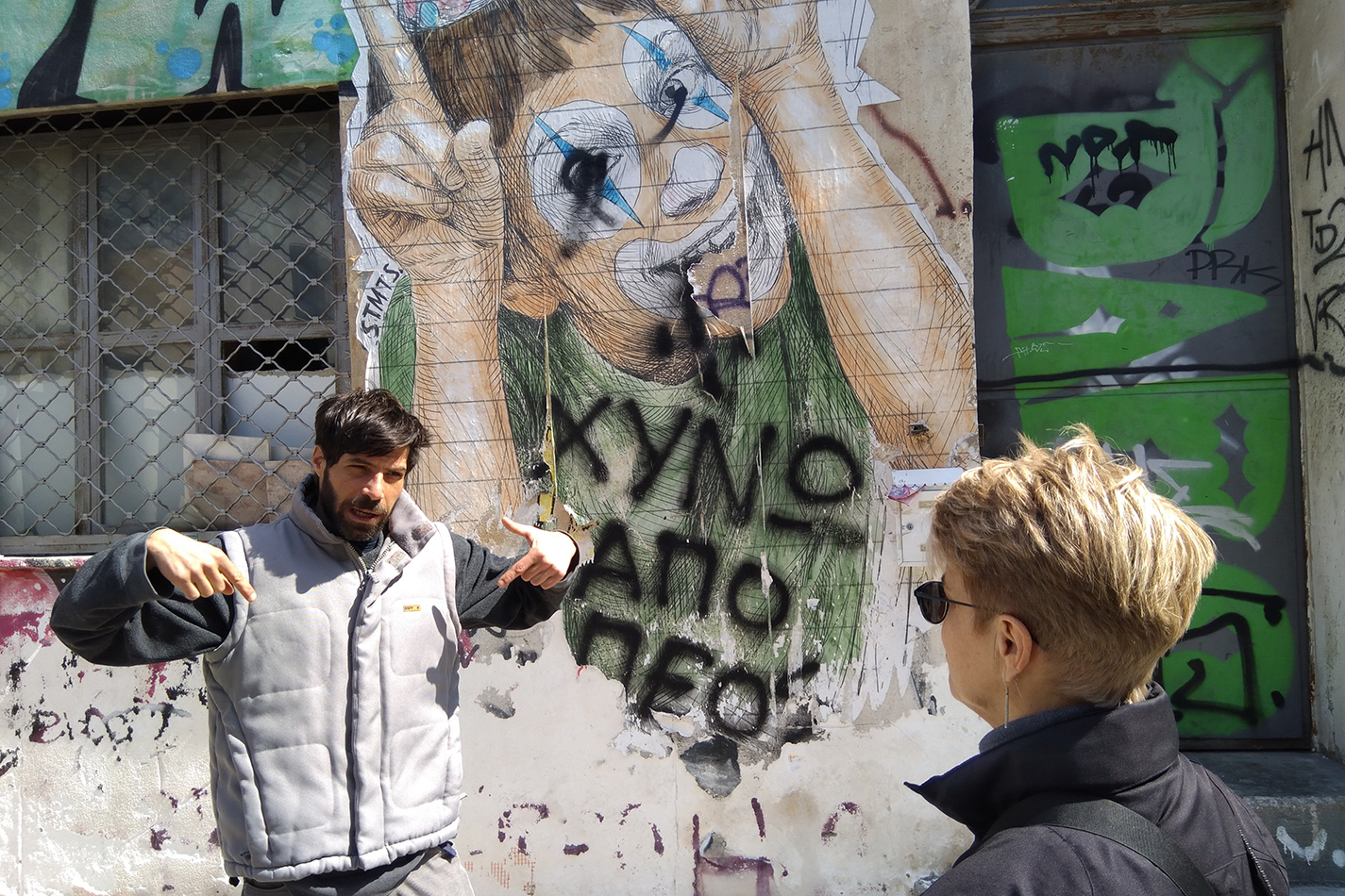 De Atheense Street Art tour