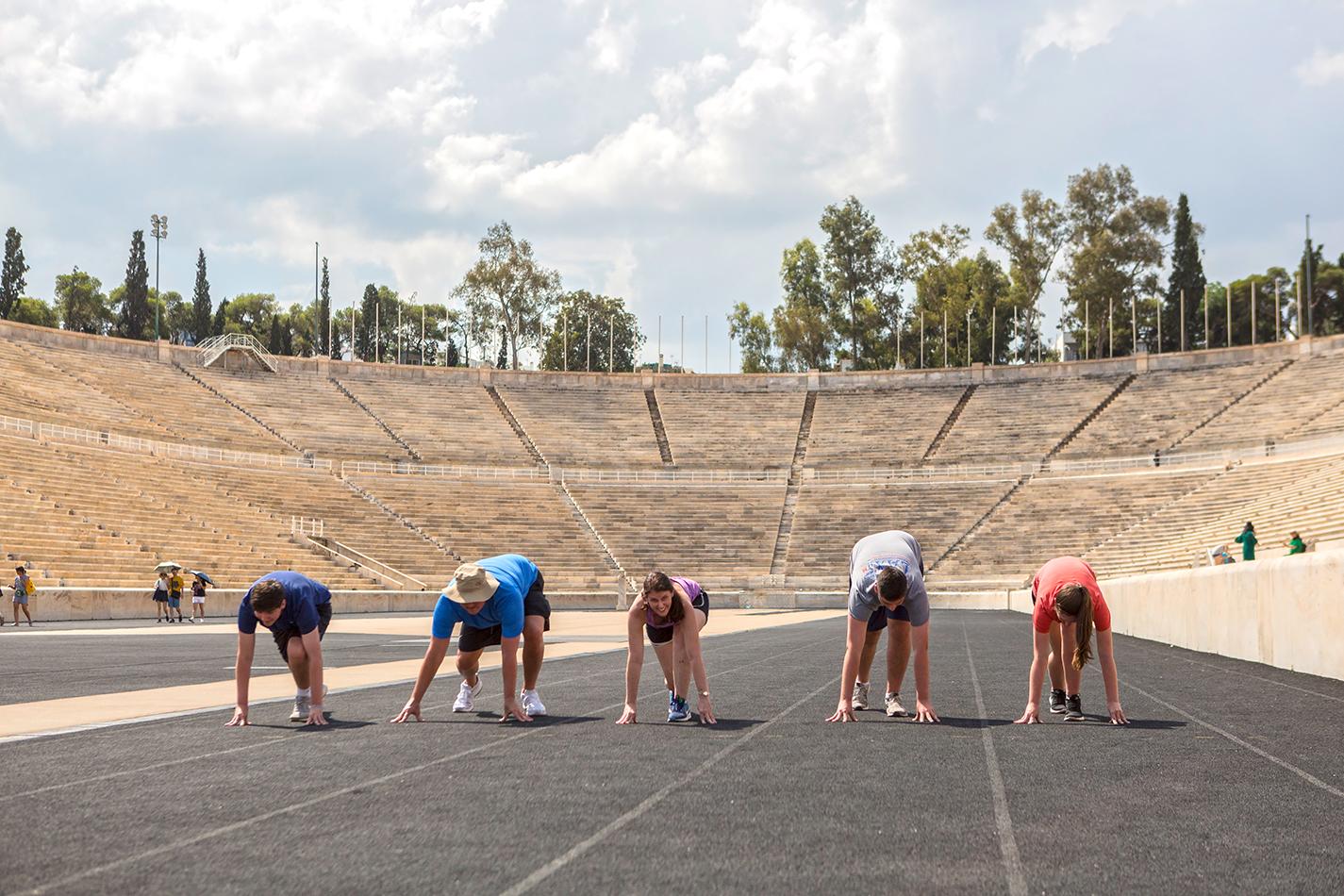 De Olympische Spelen Workout